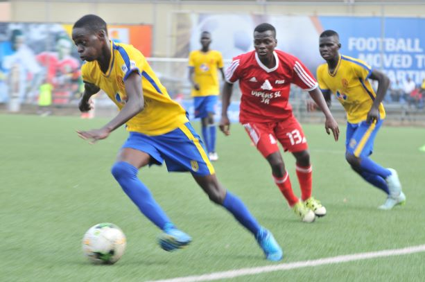 Sensational Kizza Joseph Bukenya dreams of playing for KCCA FC senior team