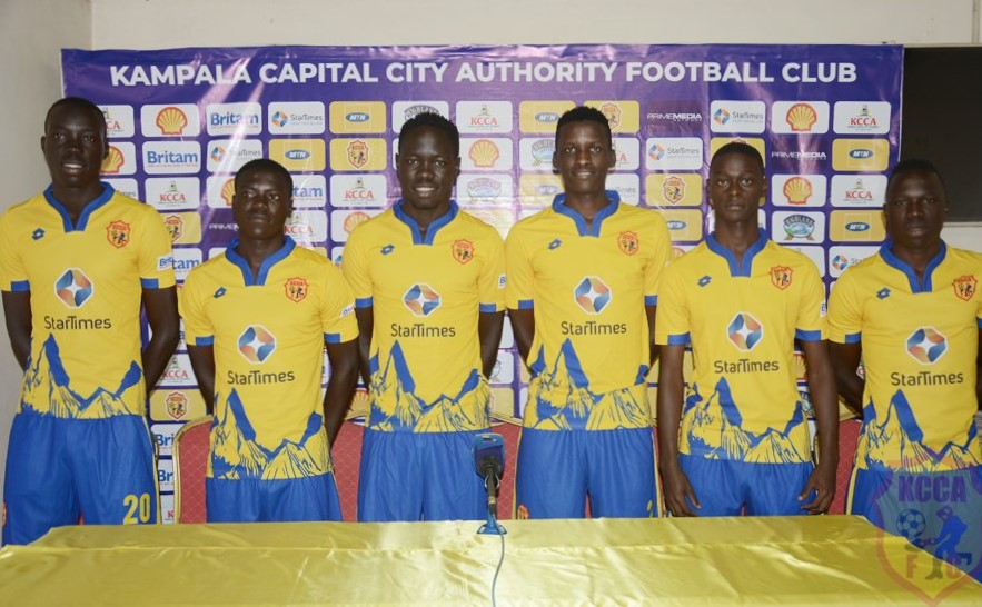 KCCA promotes six from soccer academy to senior side